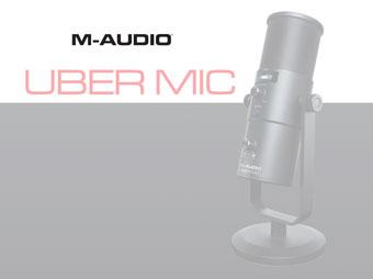 Poznaj mikrofon M-Audio Uber Mic