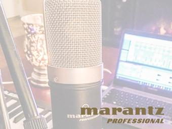 Poznaj mikrofony Marantz