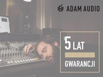 5 lat gwarancji na ADAM Audio!