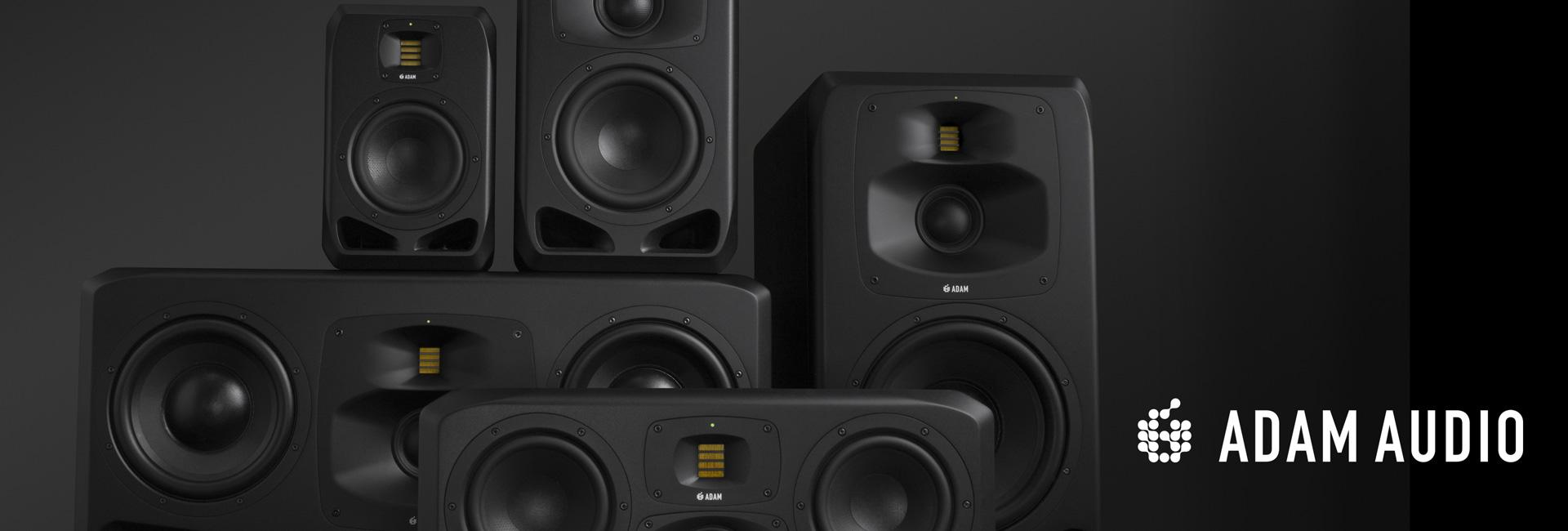 Program testów monitorów ADAM Audio serii S