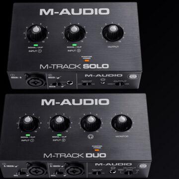 Nowość: M-Track Solo i M-Track Duo z M-Audio