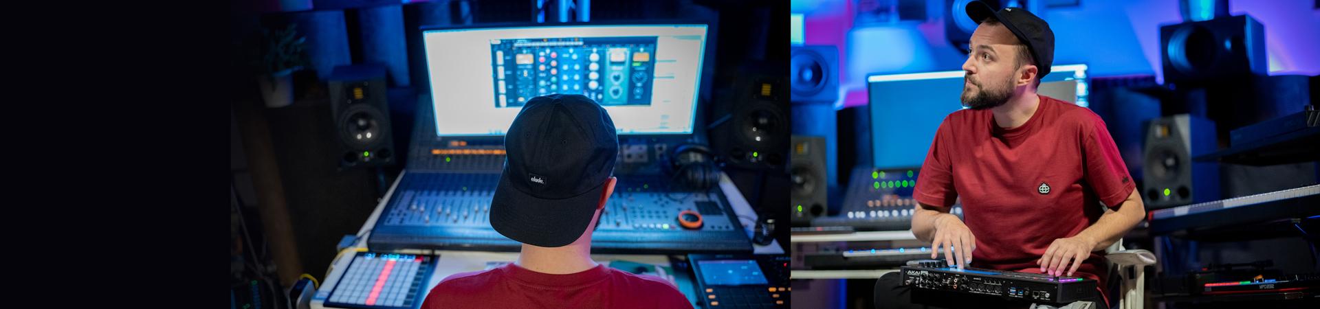 Steve Nash opowiada o pracy z monitorami ADAM Audio