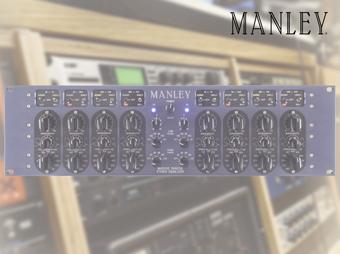 Dwukanałowy equalizer Manley Massive Passive