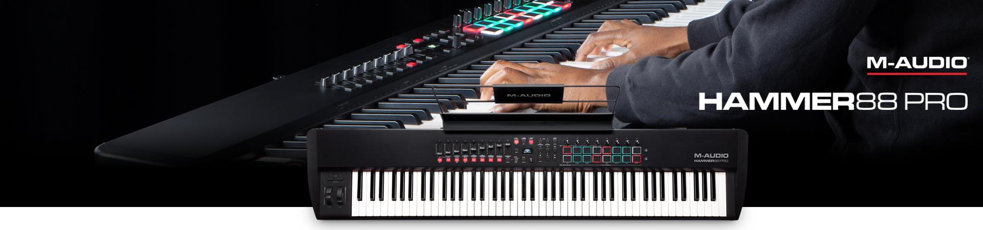 Nowa klawiatura sterująca Hammer 88 Pro z M-Audio