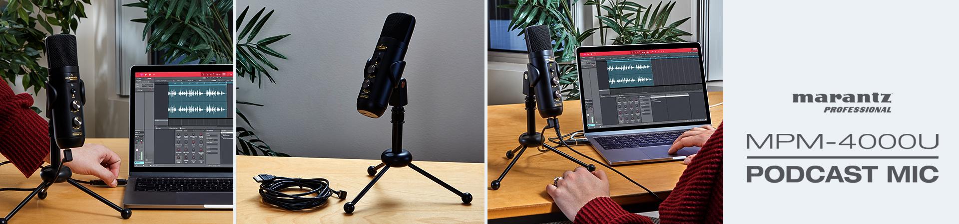 Nowy mikrofon do podcastów MPM-4000U Podcast Mic