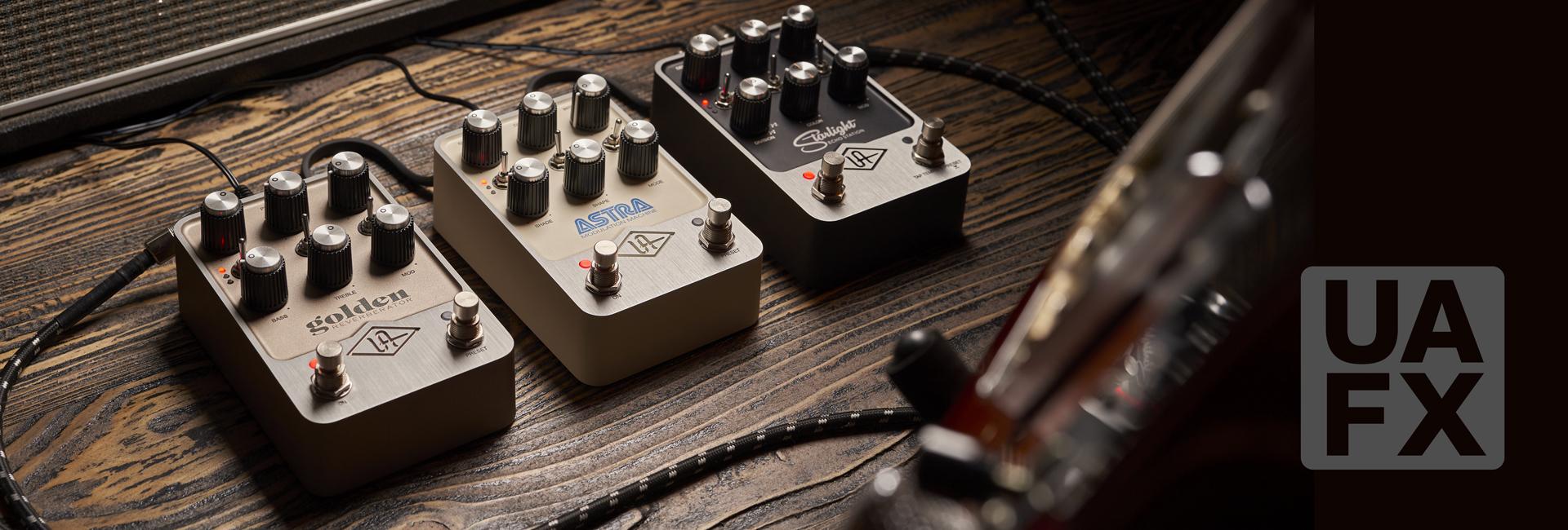 Nowe efekty gitarowe UAFX z Universal Audio